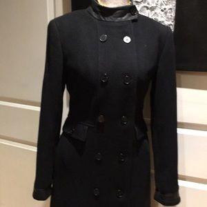 Calvin Klein Wool Cashmere Coat US 4